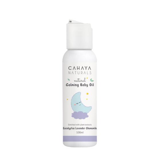 08 – Calming Baby oil mockup bottle 100ml