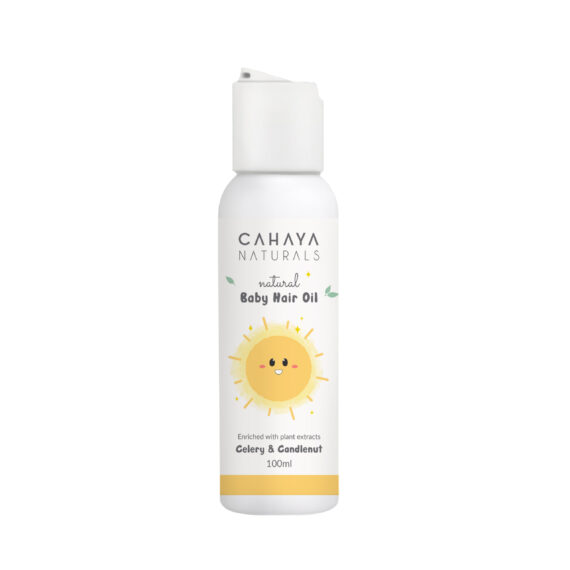 09 – Baby Hair oil mockup bottle 100ml