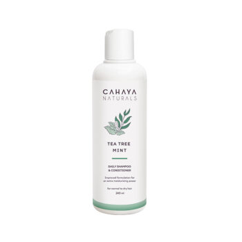CAHAYA - Tea Tree Mint - Daily Shampoo _ Conditioner 240ml