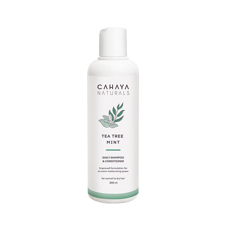 CAHAYA - Tea Tree Mint - Daily Shampoo _ Conditioner 240ml